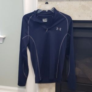 Under Armour Cold Gear fitted half zip